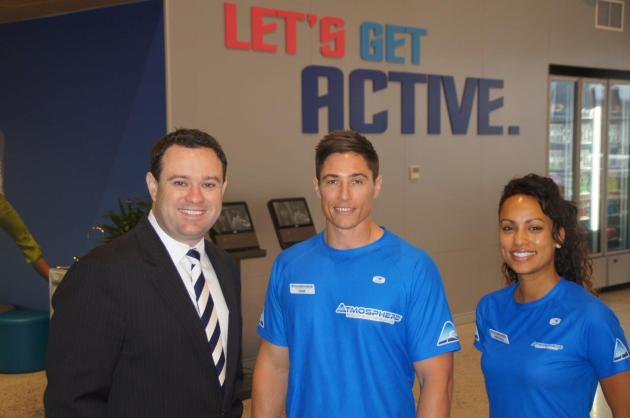 Stuart Ayres at Atmosphere Health and Fitness